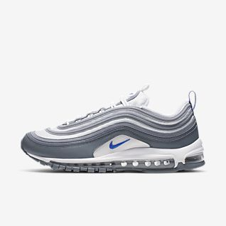 nike air max 97 baskets noir azur