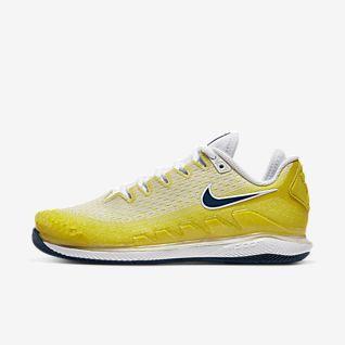 chaussure nike jaune femme