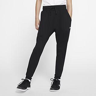 por favor confirmar Destino Mal funcionamiento  Girls Black Sweat Wicking Training & Gym Pants. Nike.com