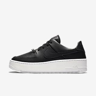 Negro Air Force 1 Calzado. Nike MX