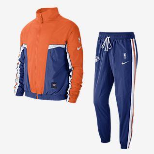 NIKE LUFT NSW Herren Grau Trainingsanzug Sports Fitness Slim