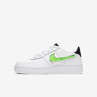 Enfant Air Force 1 Chaussures. MA