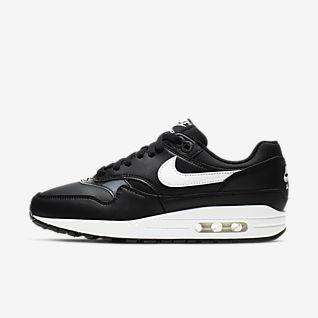 Chaussure Casual Garcon 2018 Nike Air Max 1 Blanche Vert