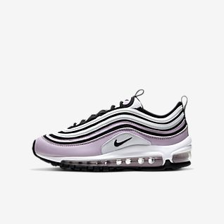 nike pink air max 97 trainers youth