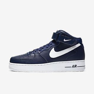 Blau Air Force 1 Schuhe. Nike LU