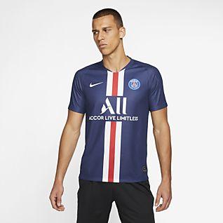 71a3622b6ae80 Nike F.C. Away. Maillot de football pour Homme. 2 couleurs. 55 €. Paris  Saint-Germain 2019/20 Stadium Home