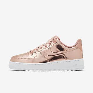 Nike Air Force 1 Hi SE Damesschoenen ZwartDonker Grijs