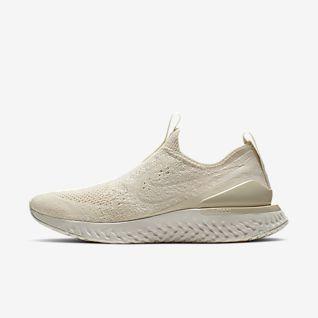 Damen Nike Grau Schuhe: Nike Epic React Flyknit