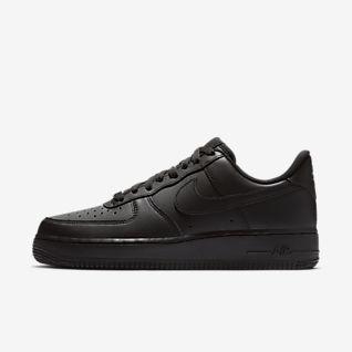Black Air Force 1 Low top Sko. Nike DK