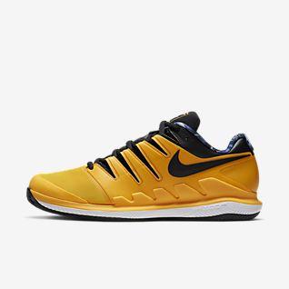 chaussures nike air zoom vapor x jaune