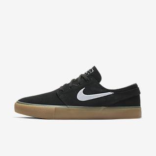 Schwarz Stefan Janoski Schuhe. Nike DE