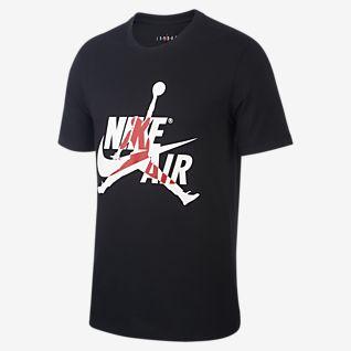 Nike Air Herren Rabatt DunkelGrau Schwarz T Shirt Reduziert