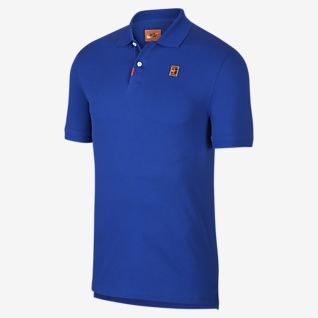 Nike Advantage Dri FIT Cool Polo Heren Geel, Grijs