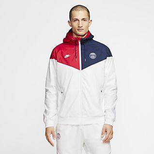 Nike Paris Saint Germain 201819 NSW Authentic Tech Fleece Hoodie BlackHyper Pink