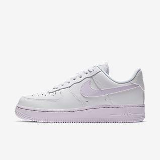 nike air force 1 07 bianche e rosa