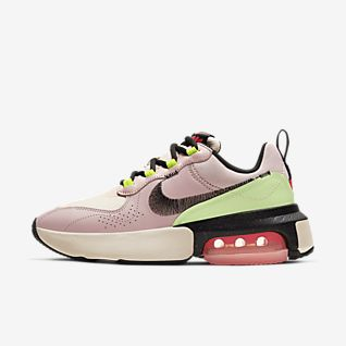 nike billigt sneakers hoog, Camo Blå Vit Nike Air Max 90 VT