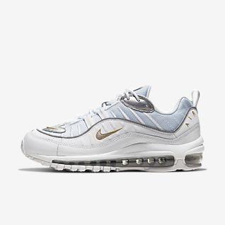 Weiß Air Max 98 Schuhe. Nike DE