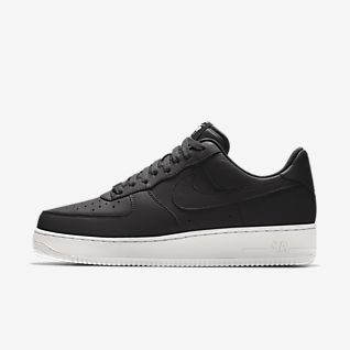 new styles c3593 c6855 Black Air Force 1 Shoes. Nike.com