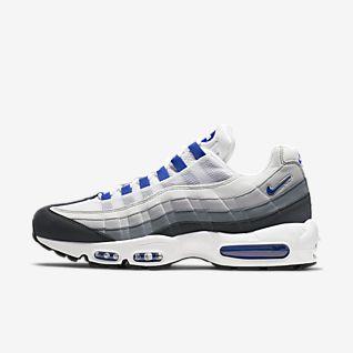 Herren Weiß Air Max 95 Schuhe. Nike DE