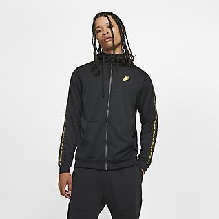 2018 Nike Damen Sportswear Gym Classic Full Zip Dunkel Grau