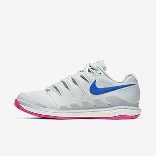 Nike Air Zoom Vapor X Grass Scarpe Tennis Uomo White