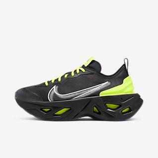 Trendige Nike Air Max 90 Frauen Schuhe Dunkelgrau Schwarz