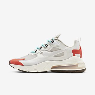 Nike air max 270 react psychedelic art sneakers blauw