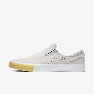 White Janoski Shoes. Nike.com MY