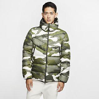 Nike Sportswear Camo Jacket (Braun Schwarz)