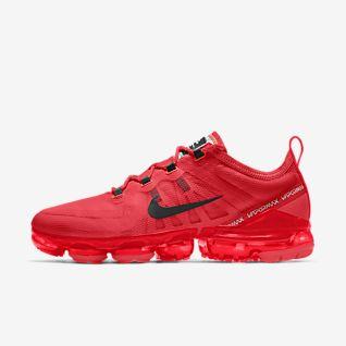 Detalles acerca de Zapatos Nike Air Vapormax Flyknit 2 Rojo órbita Obsidiana Rouge AR5406 600 para Hombre Nuevo Sin Caja mostrar título original