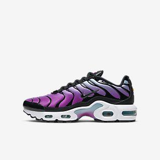 Mens Womens Nike Air Max Plus SE TN Tuned 1 Taped Pull Black White AQ4128 001 Running Shoes aq4128 001