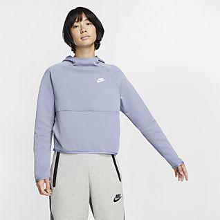 Type Hoodies Nike Wmns Sportswear Rally Metallic Hoodie
