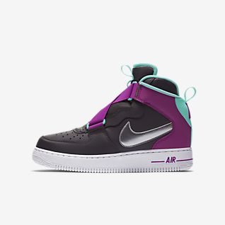 nike air force 1 niño negras de baloncesto