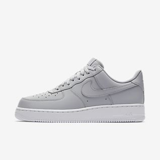 Buty damskie Nike Air Force 1 Białe ze srebrnym znaczkiem