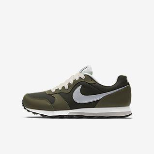 Kinder Grün Schuhe. Nike AT