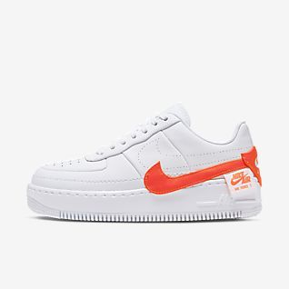 Air Max Force One Nike Air Force 1 Flyknit Orange Et Noir