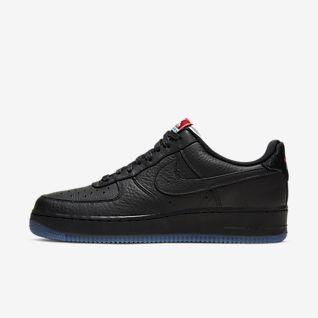Womens US Nike Air Force 1 25th High Shoes Black Green   Sale