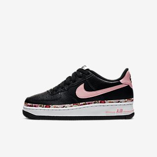 mode designer 21122 4e0ea Girls' Air Force 1 Shoes. Nike.com