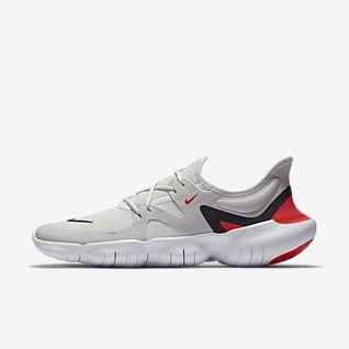 Trend Nike Free 5.0 V4 Herren Laufschuhe Blau Weiß Grau