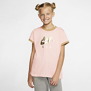 Nike printed shirts girls' short sleeve, compare prices and