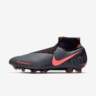 nike fotbollsskor billigt rea, Vit Grå Lila Grön Nike Air