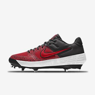release date: 5b850 457a0 Nike Alpha Huarache Elite 2 Low Metal Premium By You