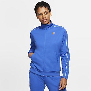 Dettagli su Nike Abbigliamento Sportivo Rally Donna Felpa con Cappuccio XS Blu Palestra