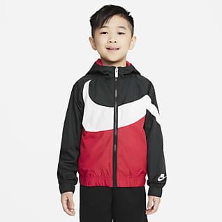 Nike Little Girls 4 6X AOP Windrunner Hoodie Jacket