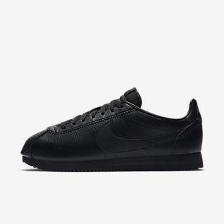 Svart Cortez Skor. Nike SE