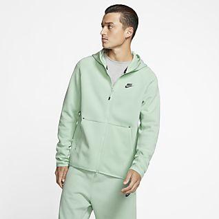 b510fb86af Sudadera con capucha y cremallera completa - Mujer. 2 colores. 100 €. Nike  Sportswear Tech Fleece