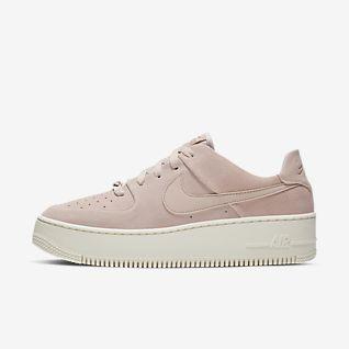 nike air force 1 rosa e rosse
