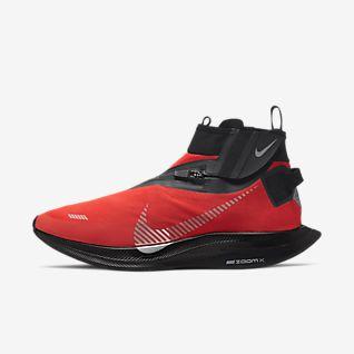 Män Röd Löpning Skor. Nike SE