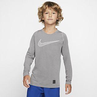 Nike Pro Camo Long Sleeve T Shirt Mens | Training | Base