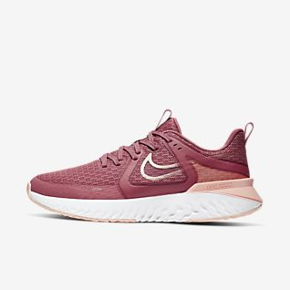Damen Rot Running Schuhe